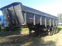 Carreta Semi reboque basculante 40m3