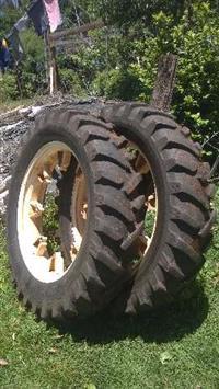 pneus estreitos para pulverização