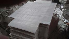 Forro de papel ondulado para caixa de frutas
