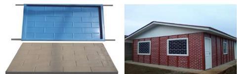 Formas para Fabricação de Casas e Muros Pré-Fabricados