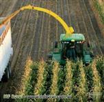 Prestação de serviços com uma forrageira de silagem de milho e capim