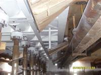 Prestação de serviços em montagem, caldeiraria e manutenção industrial