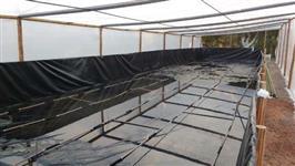 Tanques suspensos para piscicultura/ carcinicultura/ reservatório de água