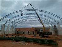 Estrutura Metálica , Galpão , Mezanino, Portão Industrial, Caçamba de Entulho