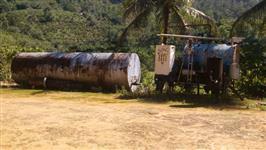 Caldeira Ata automática de 500 kg com tanque de combustível de 12000 litros.