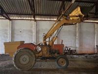 Trator Carregadeiras Massey ferguson 65x 4x2 ano 71