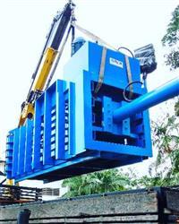 Prensa Horizontal Papel e plastico fardo 1500kg a 1800kg