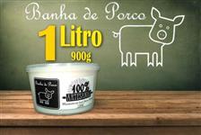 Banha de Porco Caseira Artesanal Natural