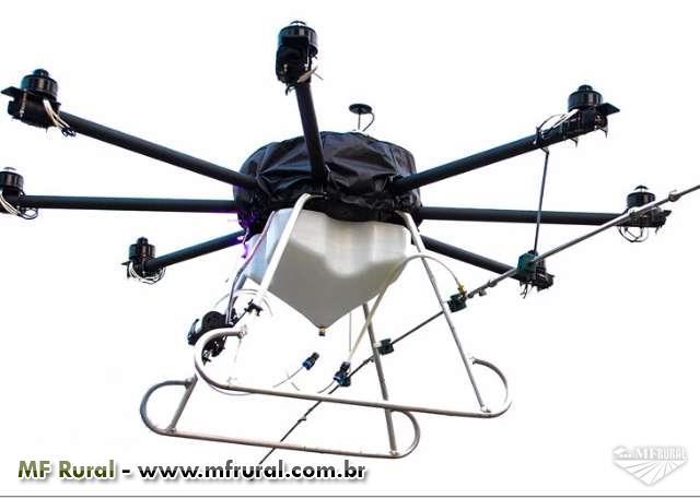 RPA/VANT Drone ZJ-8N-30L Pulverizador até 30 litros