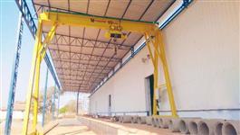 Fabricação de Pontes Rolantes, Braços Giratórios ou Pórticos Hovam