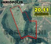 Sítio de 20.1 alqueires na margem da BR em Janiópolis