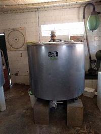 Ordenhadeira ordenha WestFalia Separator + Tanques de Resfriamento Prominox