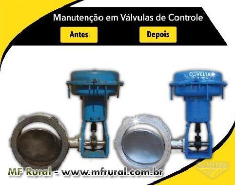 Manutenção em Válvulas de Controle