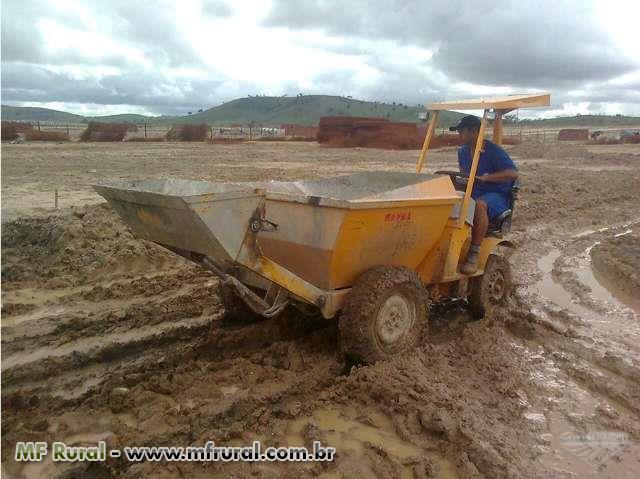 LOCAÇÃO Trator / Mini Carregadora Dumper 850 AC