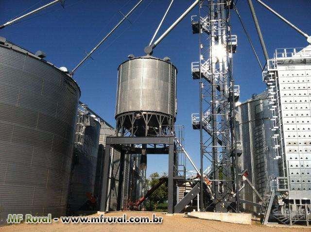 Montagem, manutenção e reforma de silos, caixas d