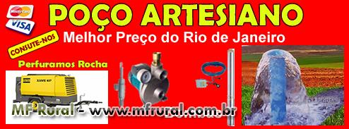 Perfuração Poço Artesiano - Melhor Preço do Rio de janeiro
