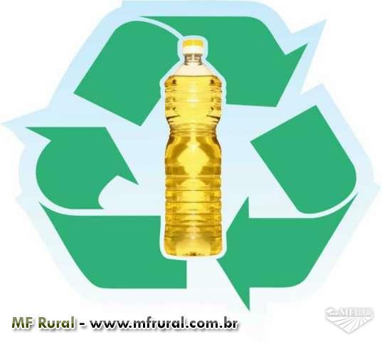 Compramos óleo vegetal usado