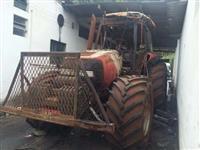 Trator Case case mxm 180 2006 pneus semi novos com rodas 4x4 ano 06