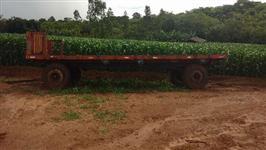 Carreta agrícola para feno e big bag