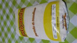 Farinha de mandioca branca e torrada pacote de 1kg