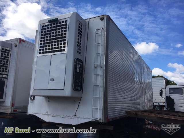 Bau frigorifico 16 paletes 8.50 mts gancheiro