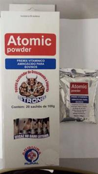 Atomic Powder 02 kG Premix para Bovinos - Potente acelerador de crescimento.