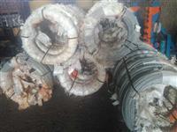ARAME GALVANIZADO BELGO 6,05 MM (4BWG) PREÇO POR KG  , APROXIMADAMENTE 733 METROS COM 156 KG O ROLO