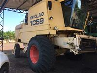 Colheitadeira TC 59 New Holland