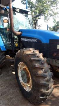 Trator New Holland TM 150 4x4 ano 01