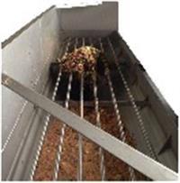 Separador/Classificador de Resíduos Sólidos Urbanos (RSU) contínuo automatizado (substrato p Biogás)