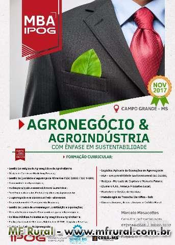 MBA em Agronegócio e Agroindústria