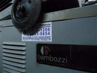 maquinas de solda Bambozzi 400 amper