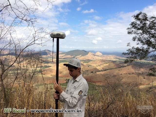 Topografia e Georreferenciamento de Imóvel Rural e Urbano