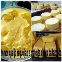Requeijao queijo e mateiga direto da fazenda