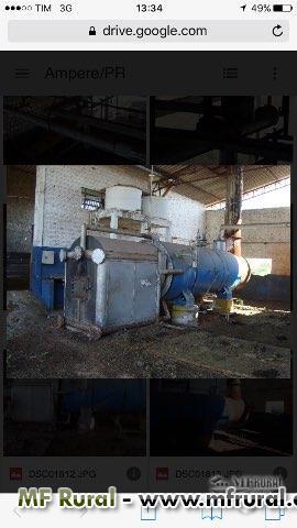 Caldeira 1.500kg/hora - Reformada