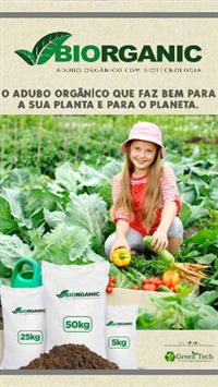 Adubo orgânico com biotecnologia