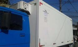 Baú frigorifíco 4.50x2.20x2.20..porta lateral otimo estado corservação.