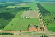 Fazenda localizada a 37 km de Canarana MT, em cima do entrocamento da BR158 e MT326!