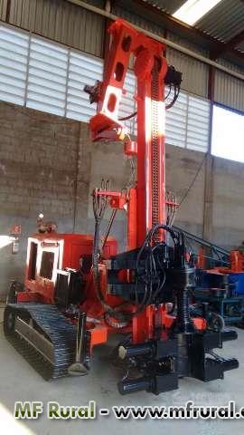 Perfuratriz para Estaca Raiz 410 mm - Pouco uso