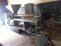 Extrusora Plastico PEBD / picador de rotor / aglutinador 100cv / moinho / lavadoras e secadoras