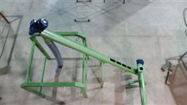 rosca transportadora aço inox ou aço carbono
