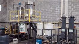 Instalação Completa para Coleta de Oleo Vegetal Residual e Fabricação de Biodiesel/Desmoldante