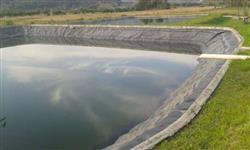 Reservatório para psicultura, esterqueiras e irrigação