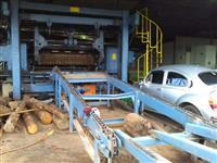 Torno fezer 2.7 guilhotina rotativa Linha de corte com 30 metros centrador automático e alimentador
