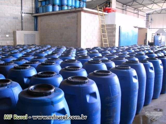 BOMBONAS PLASTICAS 240 LTS