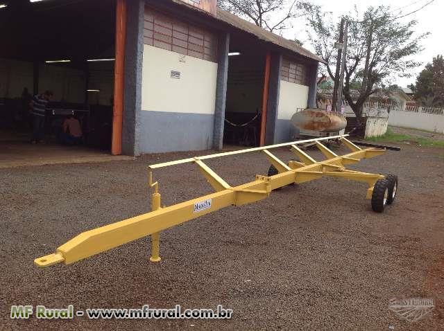 Carreta Agricola para Transportar Plataforma de Colheitadeira