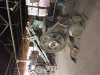Maquinário para fábrica de tijolos