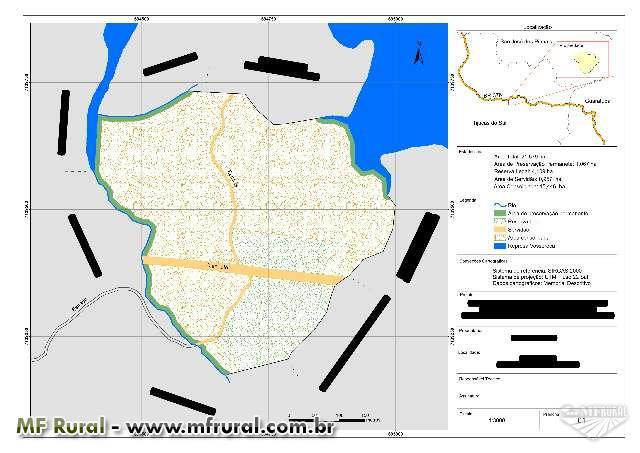 Regularização documental de áreas rurais