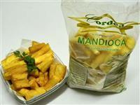 Mandioca pré cozida congelada