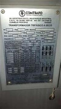 TRANSFORMADOR A SECO 500 KVA COM CUBÍCULO